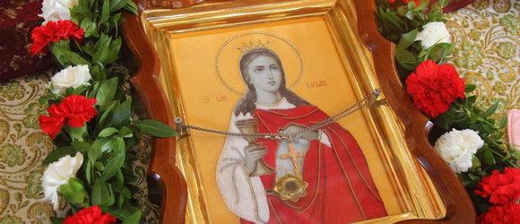17 декабря 2019 года, в день памяти святой великомученицы Варвары, по благословению Высокопреосвященнейшего Агафангела, Митрополита Одесского и Измаильского, Высокопреосвященнейший Диодор, архиепископ Южненский, викарий Одесской епархии, благочинный храмов Южненского благочиния, совершил Божественную литургию в храме в честь великомученицы Варвары в пгт. Доброслав Лиманского р-на, по случаю престольного праздника. По окончании богослужения владыка совершил крестный ход.